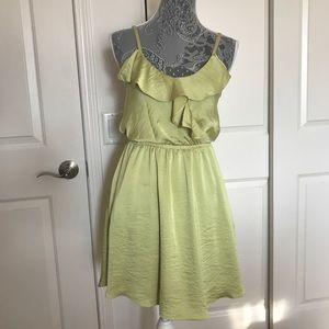 BCBG Strapless Key Lime Dress Size XS